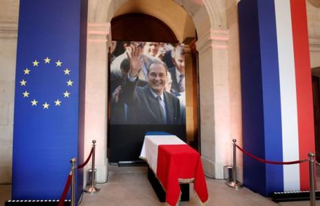 مراسم وداع با ژاک شیراک به روایت تصویر