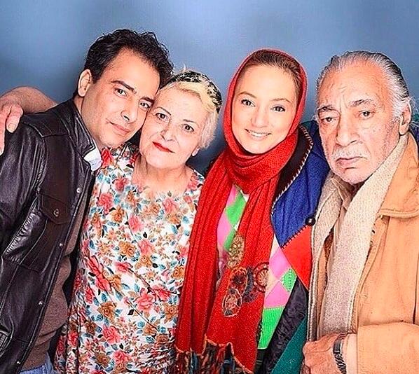مسعود ولدبیگی در کنار خانواده